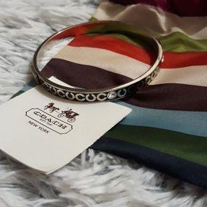 Coach Jewelry - Coach jeweled bangle